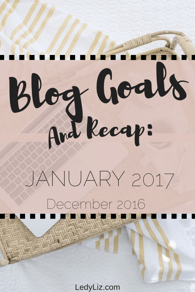 Take a look at one mom blogger and her monthly goals and recaps. What are your goals as blogger?