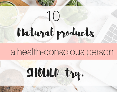 Do you love trying natural or organic healthy options? Then check out this post for 10 must try natural products.Daily goodie box