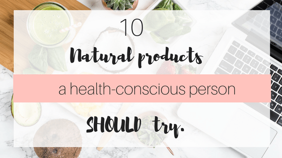 Do you love trying natural or organic healthy options? Then check out this post for 10 must try natural products. And Daily Goodie Box review