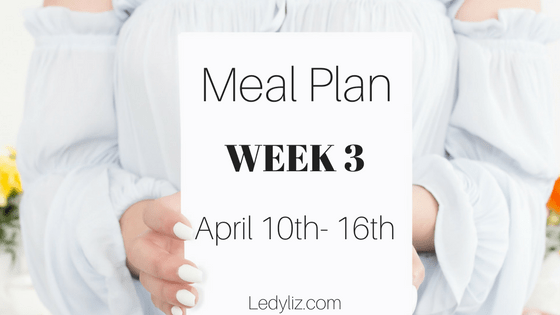 Do you struggle to meal plan for your family? Me too, so I created: Meal planning for the mom who sucks at meal planning this is, week 2 and week 3.