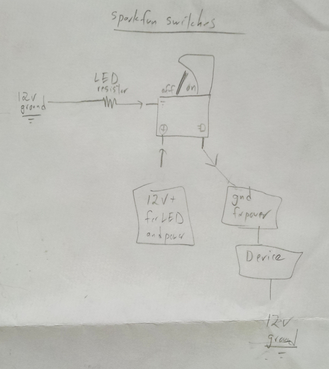 Lee.org » Blog Archive » Sparkfun Illuminated Switch Schematic