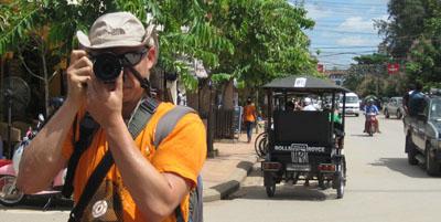 Jason Low in Siem Reap, Cambodia
