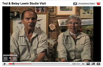 Ted and Betsy Lewin