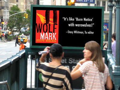 Wolf Mark subway advert