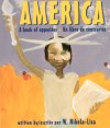 America: A Book of Opposites board book