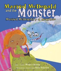 Marisol McDonald and the Monster cover image