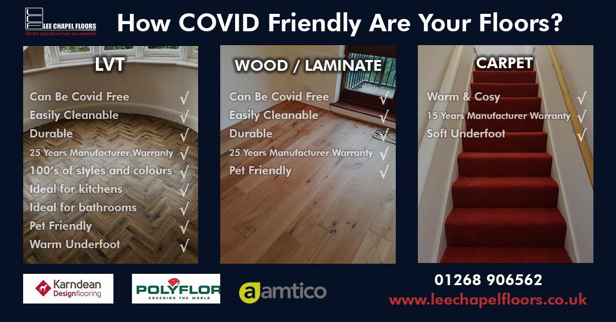 COVID Friendly Flooring