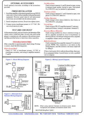 LEE DAN PK205 (PK205, PK205L) Handset Inter Amplifier
