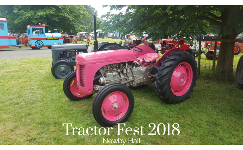 Tractor Fest 2018 – Newby Hall