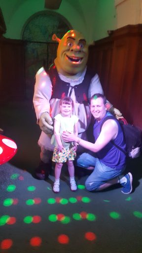 Shrek's Adventure image with Shrek