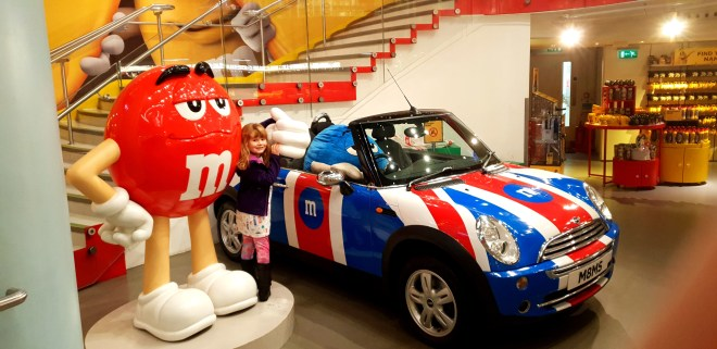 Car at M&M's World