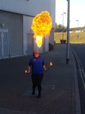 Domino's Xscape Fire Breather