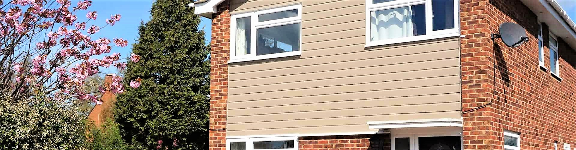 Weatherproofing with uPVC Cladding