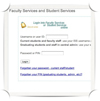 Link to Student Services