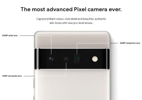 Pixel 6 Pro Camera.