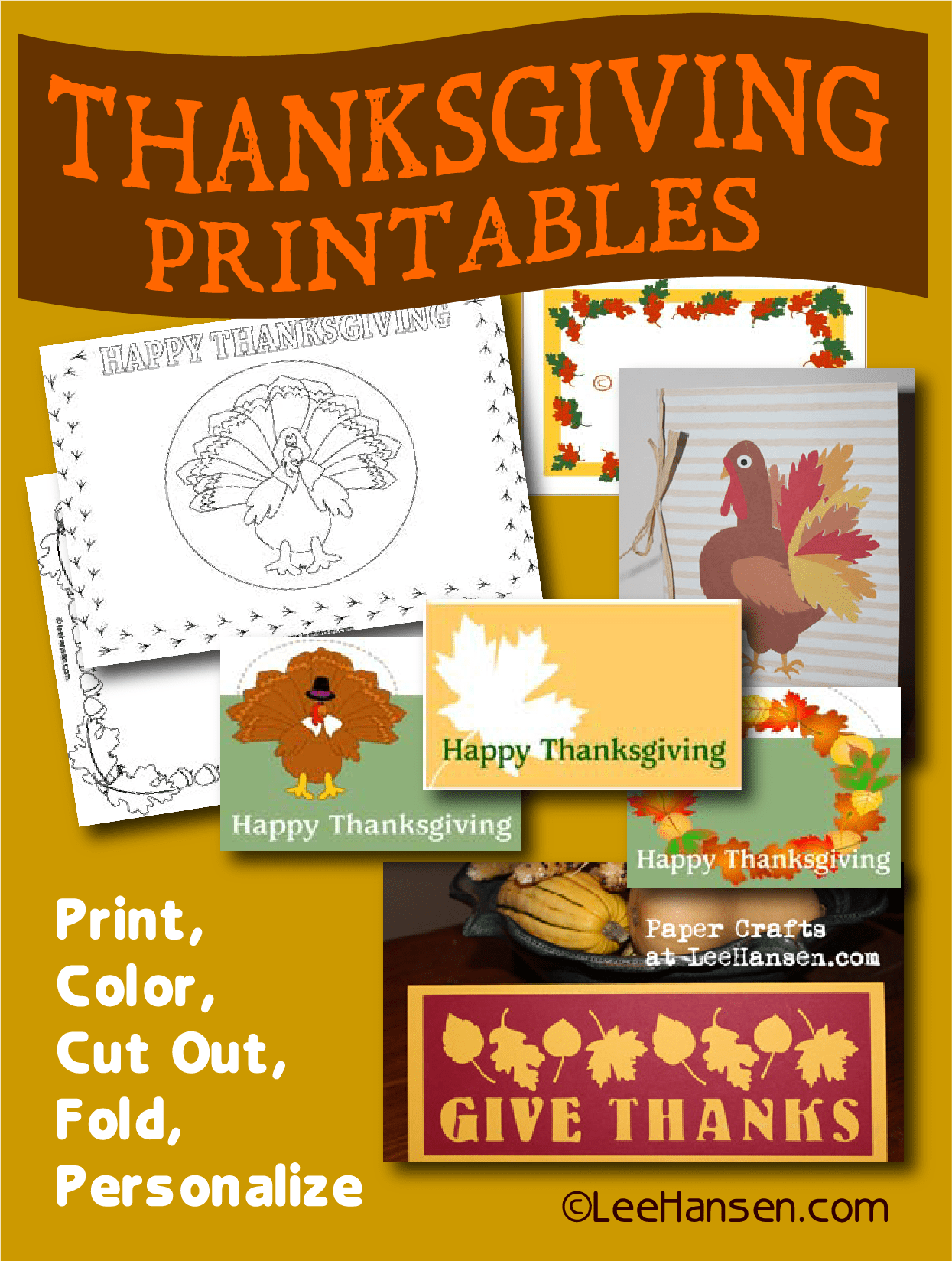 Paper Craft Printables And Activity Sheets