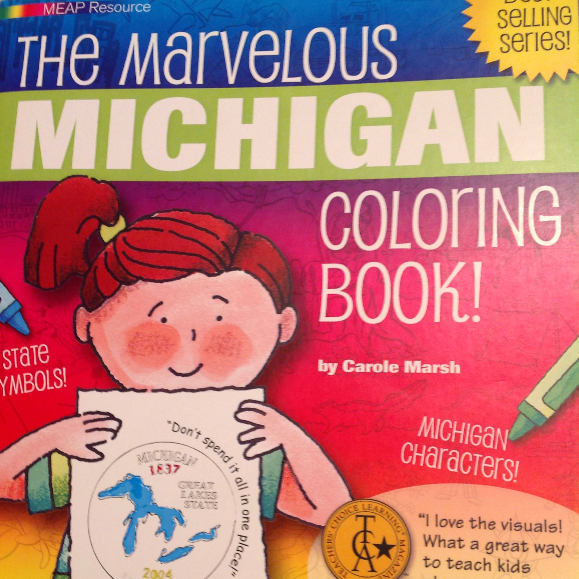 Marvelous Michigan Coloring Book – Leelanau Historical Society Museum