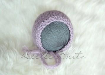 Newborn Bonnet Knitting Pattern