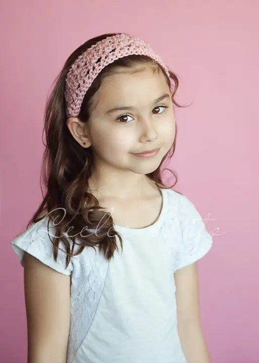 Free Crochet Hairband Pattern 1