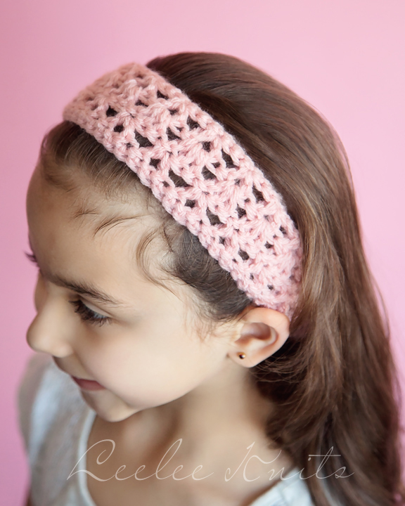 20 Minute Free Crochet Headband Pattern For Beginners - Leelee Knits 37a96ef61ff
