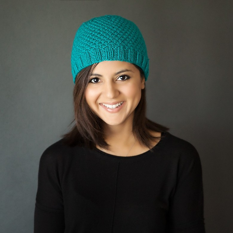 Modern Knit Beanie Free Pattern