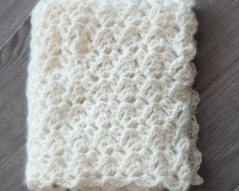 Free Newborn Wrap Crochet Pattern 1