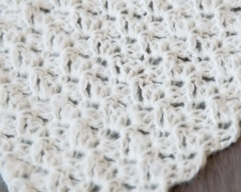 Free Newborn Wrap Crochet Pattern 3