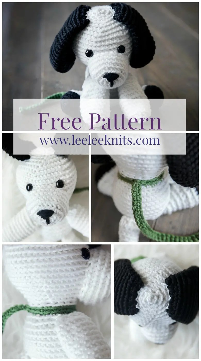 Amigurumi Rainbow Puppy Crochet Pattern - Crochet & Knitting | 1400x780