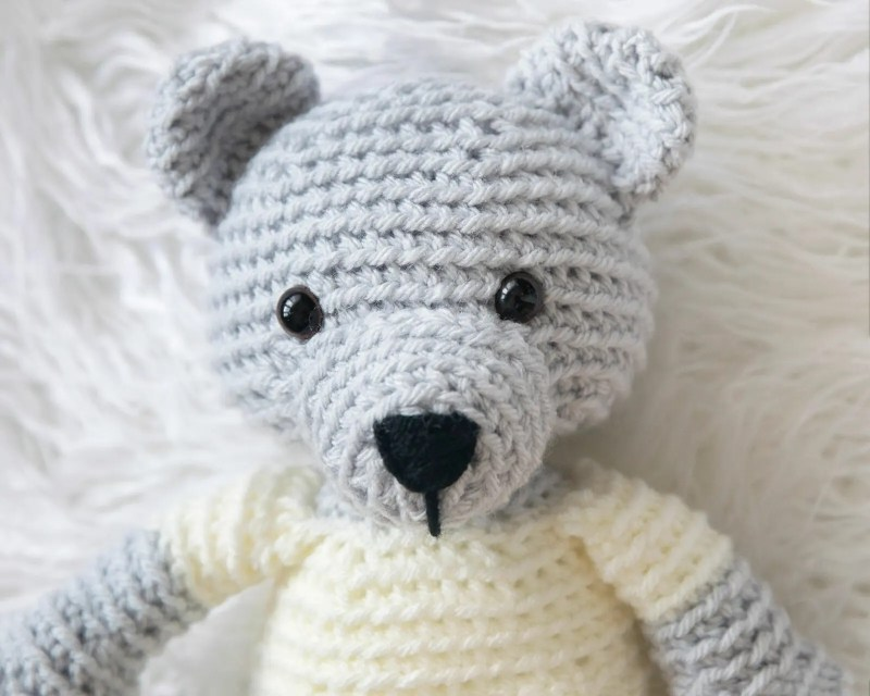 Amigurumi Teddy Bear Tutorial | 640x800