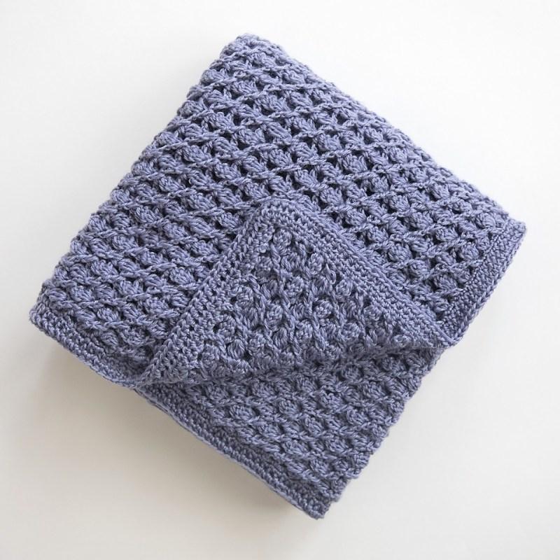 Free Crochet Baby Blanket Pattern Archives Leelee Knits