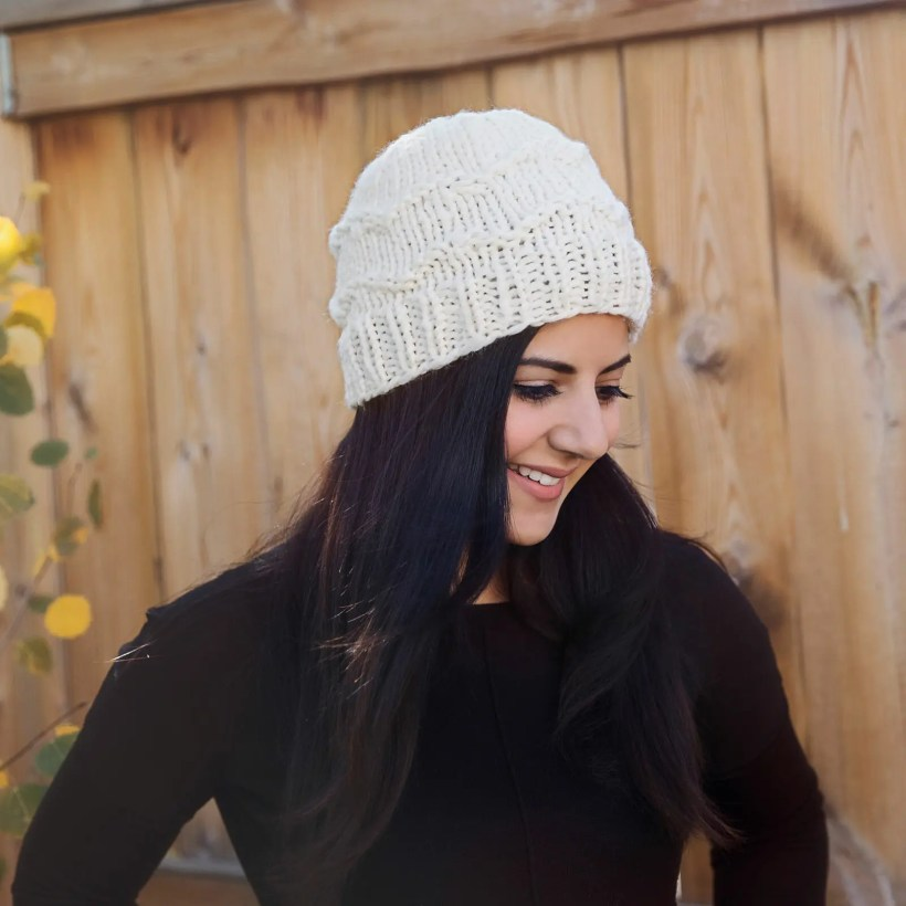 The Coziest Winter Hat Knitting Pattern Leelee Knits
