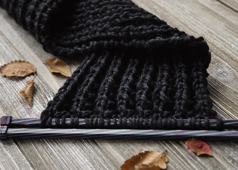 The Ultimate Knitted Scarf Leelee Knits