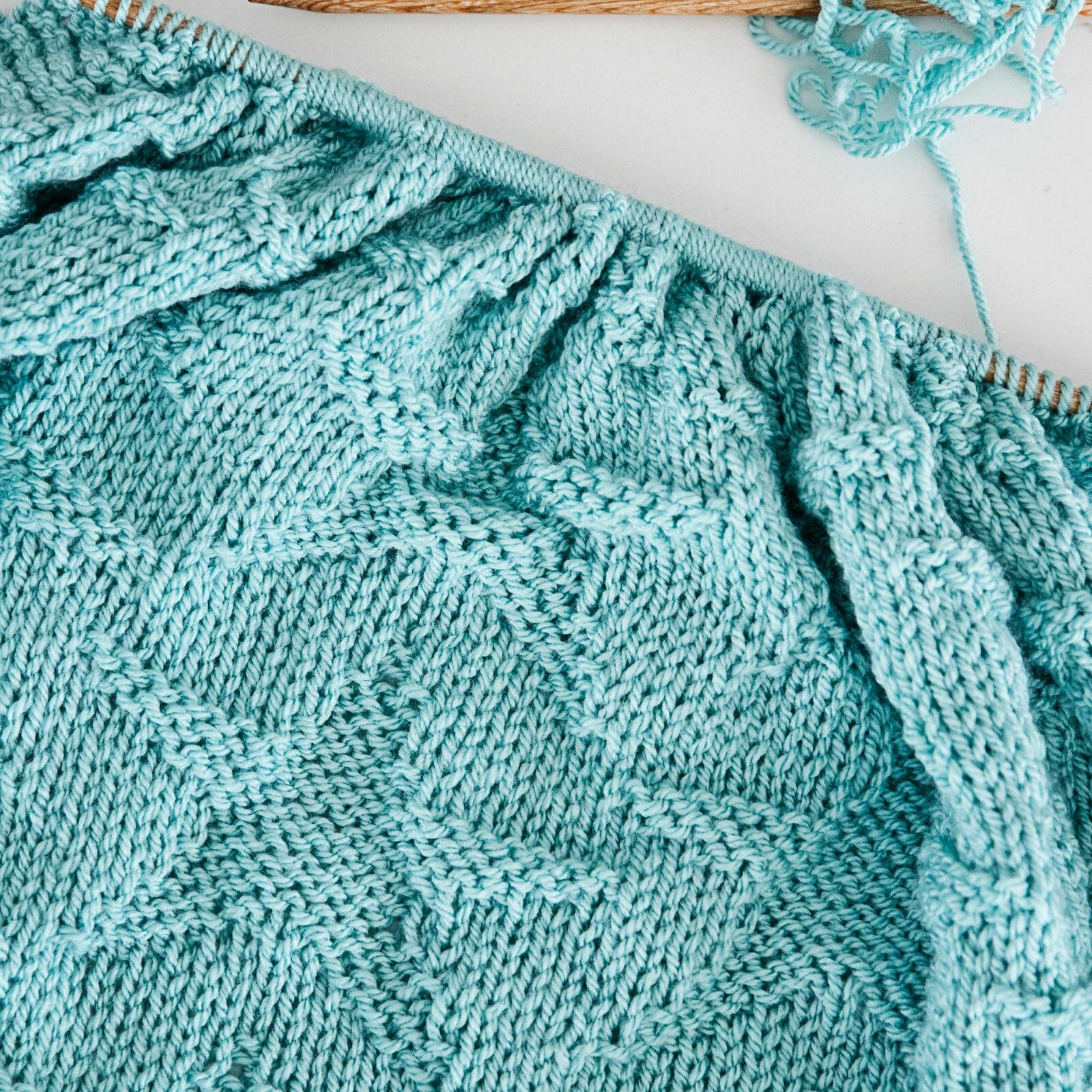 Starry Night Baby Blanket Knitting Pattern Leelee Knits