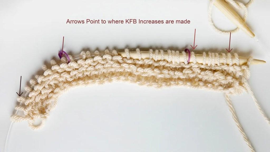 Beginner Knit Shawl Pattern Increases