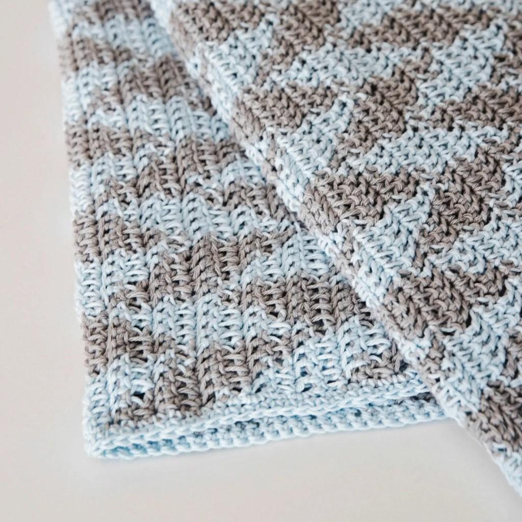 Classic Baby Blanket Crochet Pattern