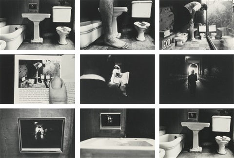 duane-michals-things-are-queer-(sequence-of-9)