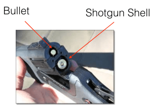 Part rifle, part shotgun
