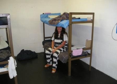 female prison dorm