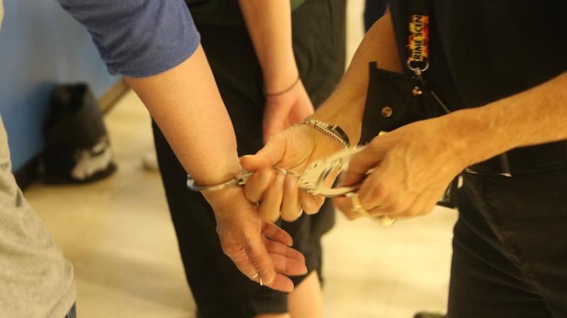 Police academy nail