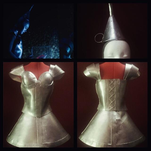 The Tin Woodsman: Female Version | Craft Foam Chronicles