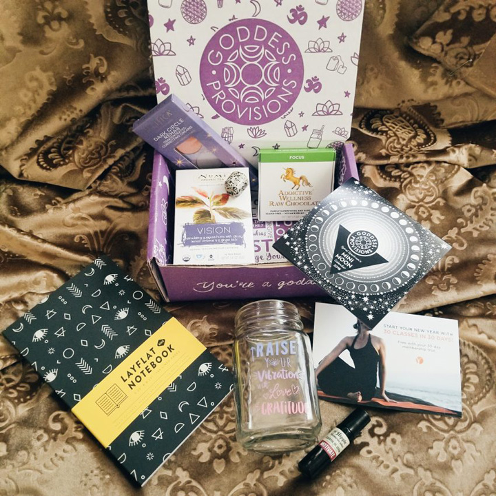 Goddess Provisions: Creative Vision Box (January 2018) | Reviews