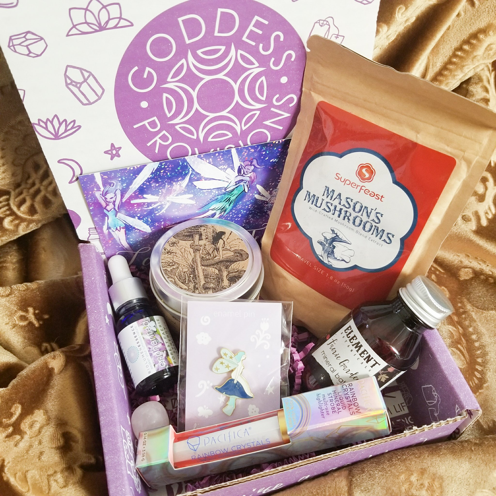 Goddess Provisions: Faerie Magick Box (February 2018) | Reviews