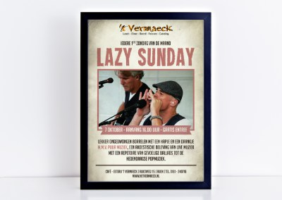 Poster Lazy Sunday