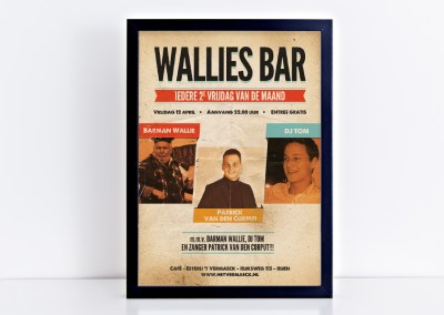 Poster Wallies bar