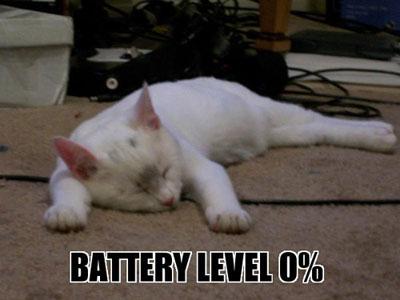 Platte Batterij
