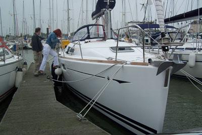 De boot genaamd Kalista..