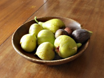 A bowl of figs, Rabbi Samuel, Millrock, San Piero, & Black Bethlehem