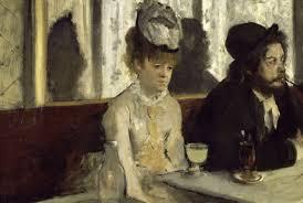 The Absinthe Drinker, Degas