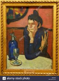 The Absinthe Drinker, Picasso