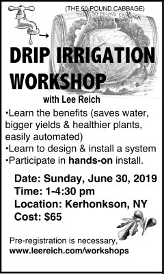 Drip workshop announcemenrt 2109